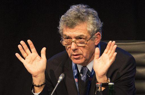 Vizepräsident Ángel María Villar Llona festgenommen
