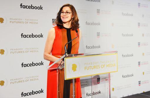 Facebook-Managerin Campbell Brown wählt  klare Worte: Es sei nicht ihr Job, Verlage glücklich zu machen. Foto: AFP