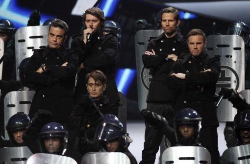 Promiauflauf bei den Brit Awards