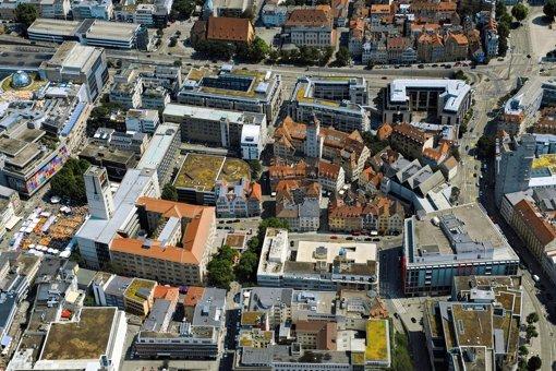 Das Rathausviertel macht seiner historischen Bedeutung wenig Ehre. Foto: Manfred Storck