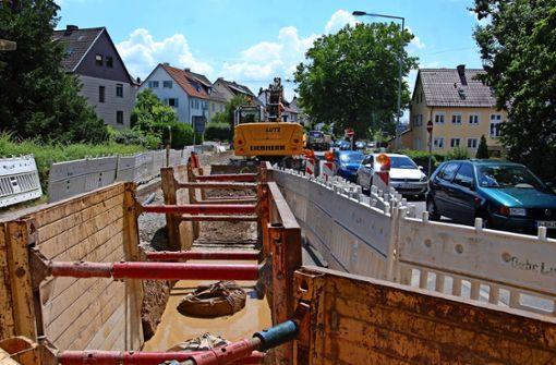 Sechs Wochen Komplettsperrung der Dietbachstraße