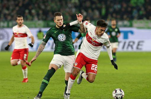 Daniel Ginczek fehlt Wolfsburg für mehrere Wochen