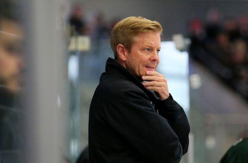 Bietigheims Trainer Kevin Gaudet geht zum Saisonende – mit dem Titel? Foto: Baumann