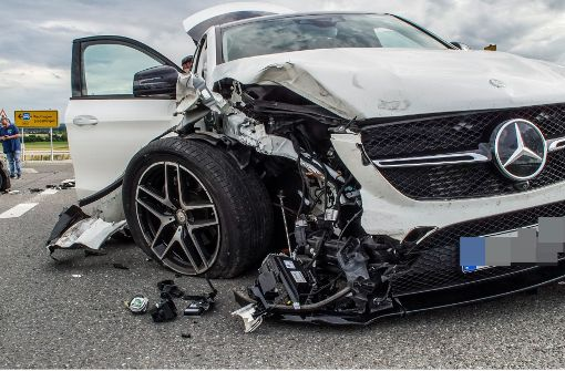67.500 Euro Schaden bei Unfall