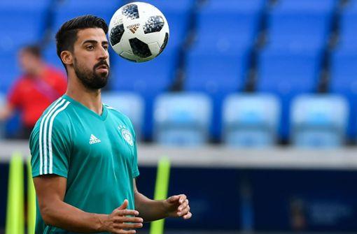 Sami Khedira steht Nationalmannschaft weiter zur Verfügung