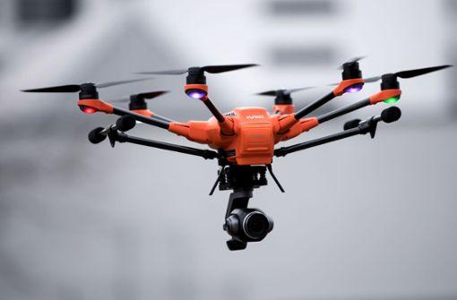 Drohne bei Fanfeier beschlagnahmt