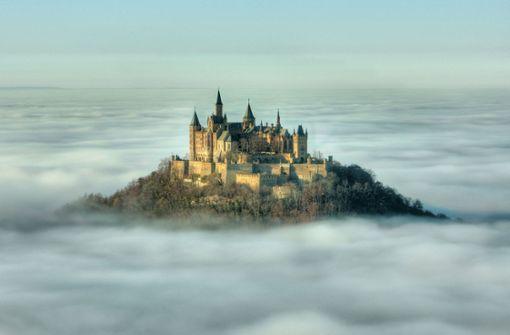 Die Burg Hohenzollern hat jährlich rund 340000 Besucher – damit hat sie es nicht ganz unter die ersten 20 Attraktionen geschafft Foto: privat