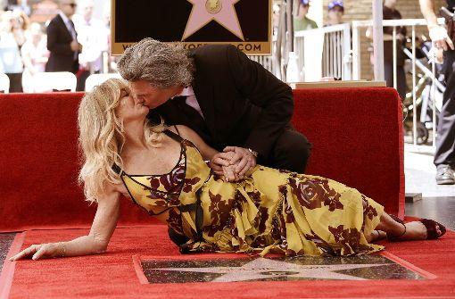 Hollywood-Sterne für Goldie Hawn und Kurt Russell