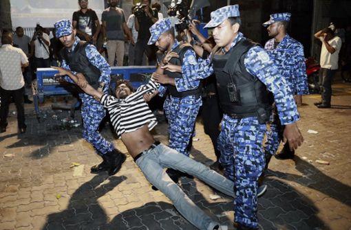Machtkampf auf den Malediven