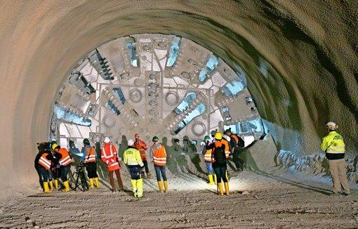 Mineure schreiben Tunnelbaugeschichte
