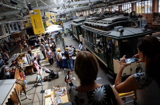 Ein Fest für Nostalgiker – die Stuttgarter Straßenbahnen AG feiert ihren 150. Geburtstag.  Foto: Lichtgut/Max Kovalenko
