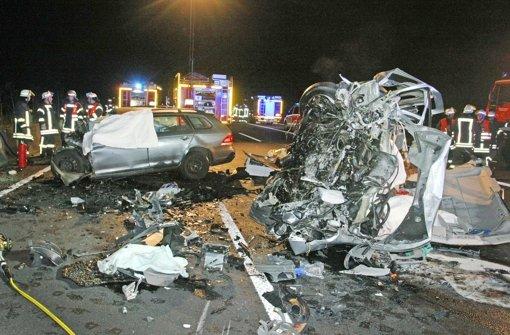Geisterfahrer-Unfall fordert zwei Tote