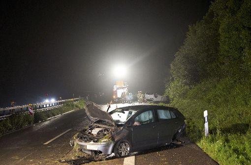 Schwere Unfälle überschatten das Wochenende