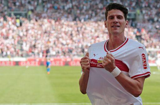 Mario Gomez plant Karriereende beim VfB Stuttgart