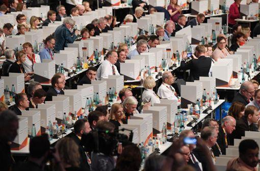 Mini-Wahlkabinen der CDU werden zum Twitter-Hit