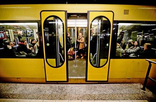 Der Stadtbahnverkehr wird vom Bahnprojekt Stuttgart 21 betroffen. Foto: Leif Piechowski