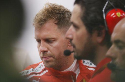 Vorzeitiges Trainings-Aus für Vettel in Singapur