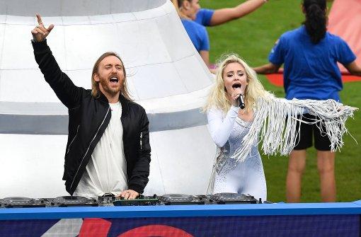 Zara Larssons Stilbruch im Stade de France