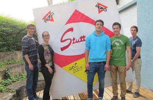Die CVJM Buaben – auch weibliche VfB-Fans sind willkommen Foto: StN