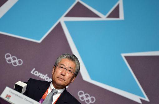 Gegen Tsunekazu Takeda werden schwere Vorwürfe erhoben. Foto: AFP