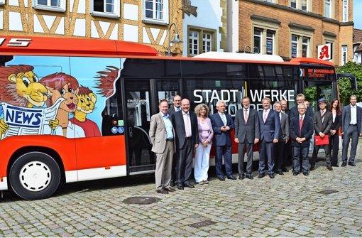 Die Stadt hält jetzt   die Hand über ihr Busnetz