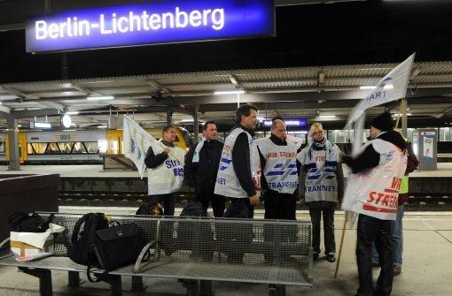 Warnstreik: Pendler sitzen fest