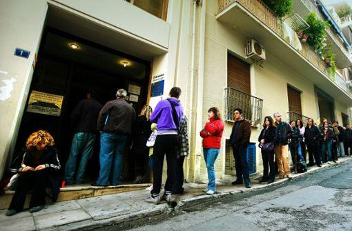 Griechen in der Teilzeitfalle