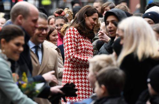 Kate und William treffen Kronprinzessin Victoria