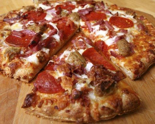 Waffe statt Pizza