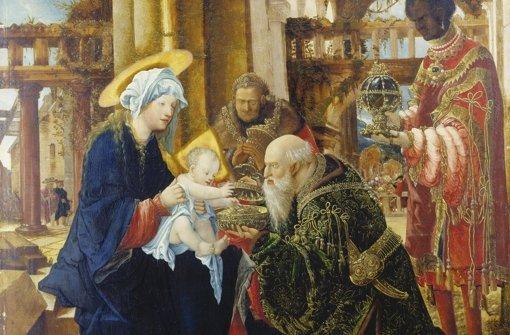 """Neue Intensität: """"Anbetung"""" von Albrecht Altdorfer. Foto: Städel-Museum"""