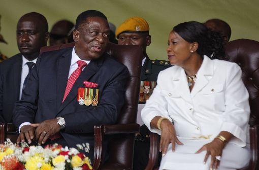 Präsident Mnangagwa vereidigt