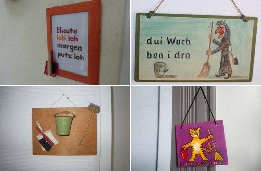 Stuttgarts beste Kehrwochenschilder