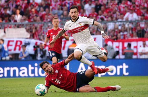 Der VfB verliert 0:3 gegen die Bayern