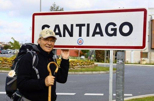 Nach 286 Kilometern ist Helmut Hanus am Ziel angekommen. Foto: z