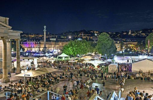 Die Innenstadt pulsiert – das ist gut für Stuttgart. Der Trend zur   Eventgesellschaft Foto: 7aktuell.de/Oskar Eyb