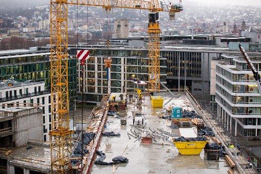 Baustellen: Das Europaviertel