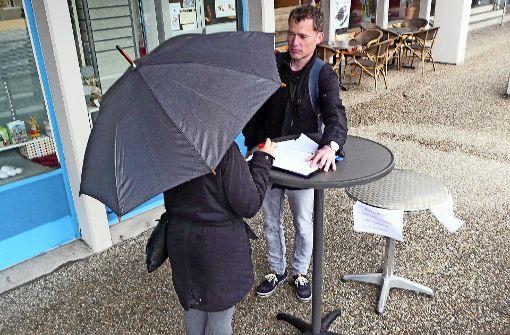 Bürger sind auf Stimmenfang