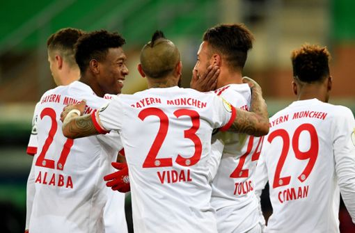FC Bayern steht im Pokal-Halbfinale