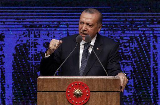 Türkischer Präsident ordnet Sanktionen gegen US-Minister an