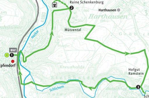 Vom Neckar zur Schlichemklamm