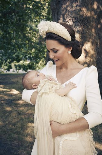 Inniges Mutterglück: Herzogin Kate mit Prinz Louis Foto: Matt Holyoak/Duke and Duchess of Cambridge/Getty Images