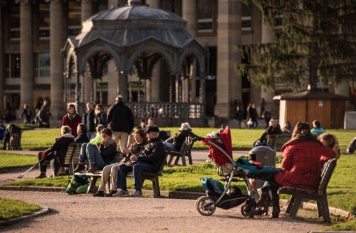 Wird man in den kommenden Tagen in Stuttgart draußen sitzen können? Foto: Lichtgut/Max Kovalenko