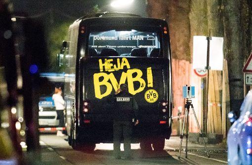 Am 11. April wurden neben dem BVB-Mannschaftsbus drei Sprengsätze gezündet. Foto: dpa