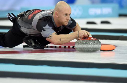 Curling-Olympiasieger randalieren betrunken auf dem Eis