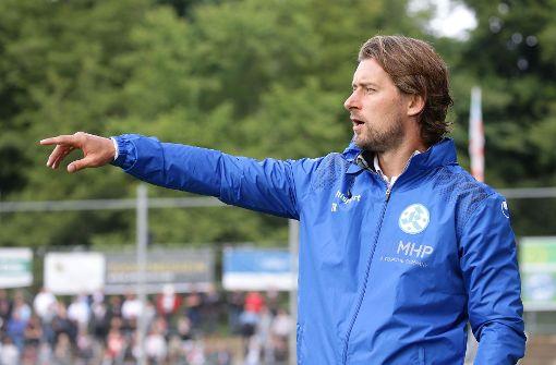 Der Trainer der Stuttgarter Kickers, Tomasz Kaczmarek Foto: Pressefoto Baumann