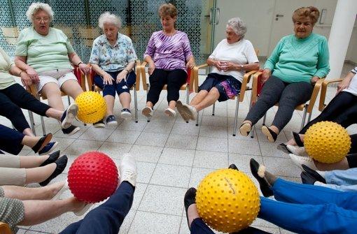 Spezielles Angebot für ältere Menschen