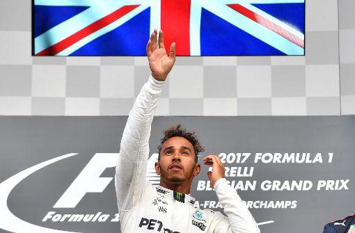 Süßer Jubiläums-Sieg für Hamilton