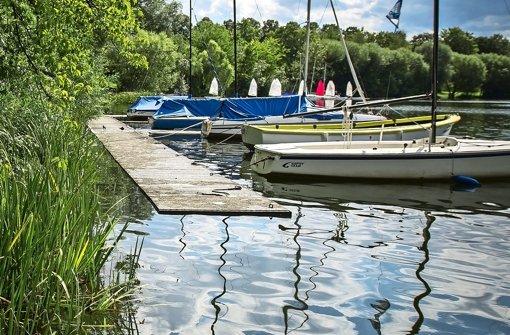 Am Max-Eyth-See ist wieder Ruhe eingekehrt Foto: Lichtgut/Max Kovalenko