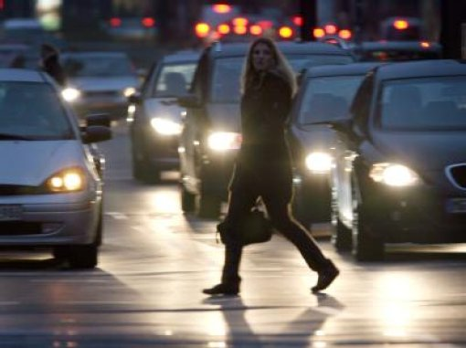 Unfälle auf eisglatten Straßen