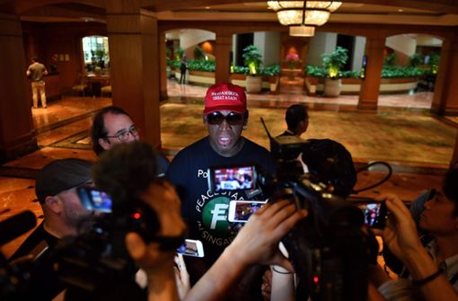 Dennis Rodman vergießt Freudentränen in Singapur